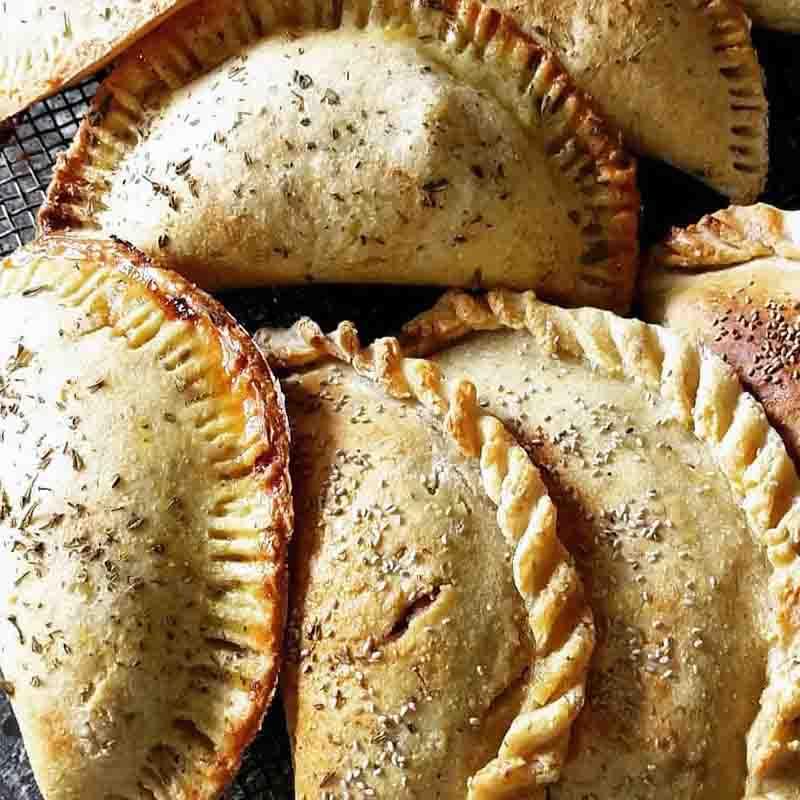 Empanadas repulgables. Snacks, Desayunos Y Meriendas. La Casa del Viento