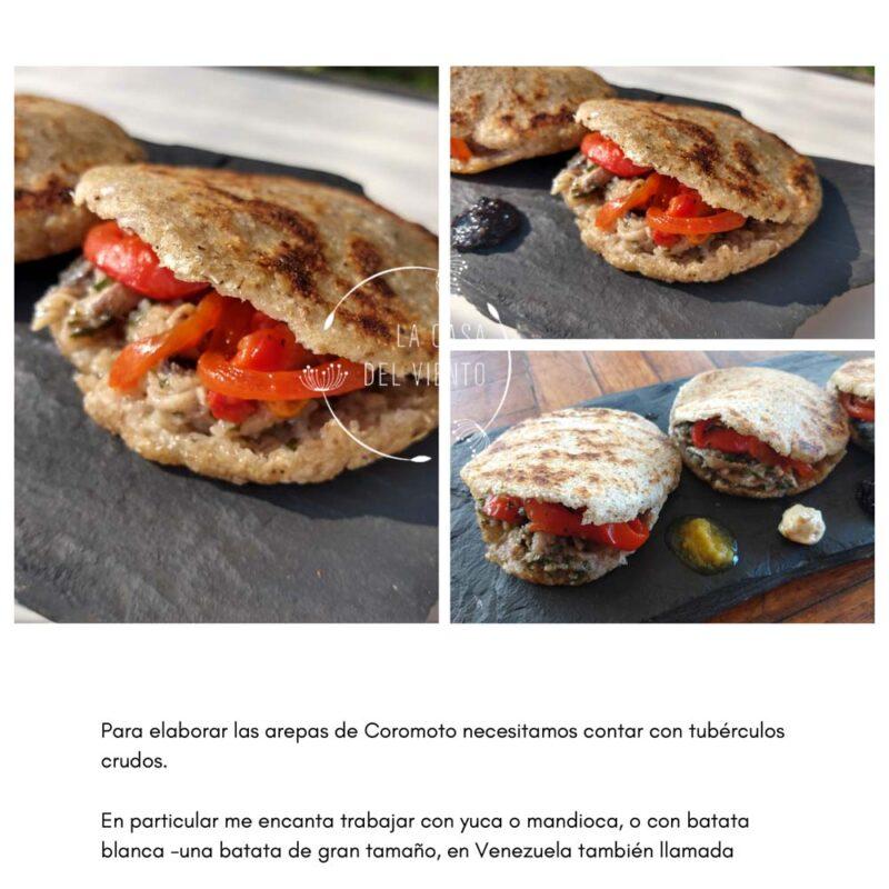 Las Arepas de Coromoto. eBook: Snacks, Desayunos Y Meriendas. Recetas de Diana Garrido