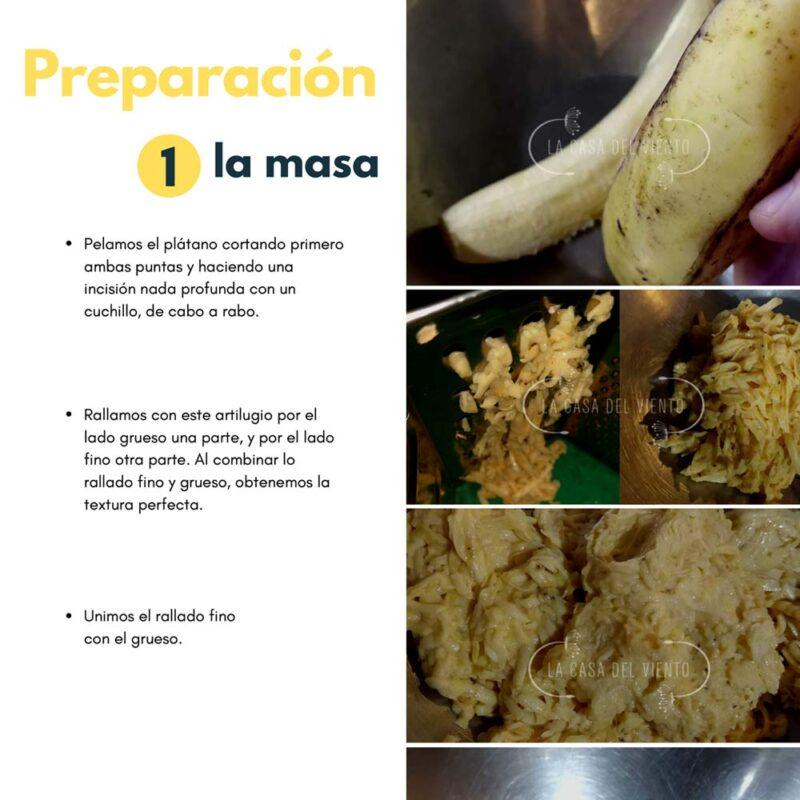 Cachapas de Plátano Pintón. eBook: Snacks, Desayunos Y Meriendas. Recetas de Diana Garrido