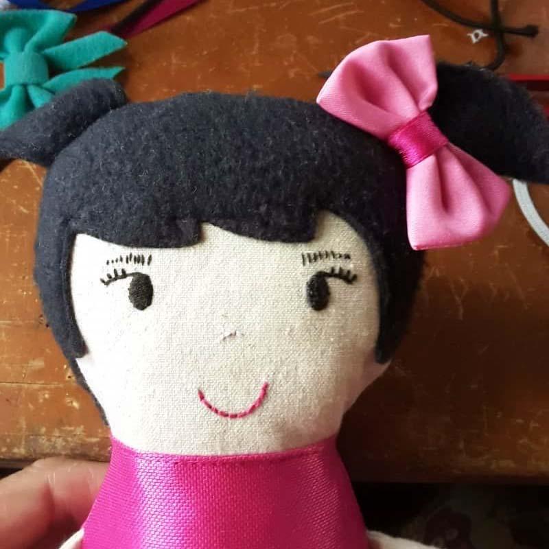 Taller para elaboración de muñecas de tela. Bebetito