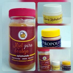 Tres productos orgánicos excelentes a un precio insuperable. Somos apicultores y distribuidores de todos los productos de la colmena.. Apismundo