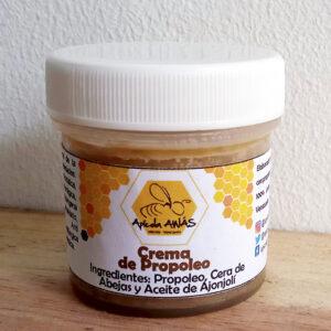 Crema de cera de abejas con propóleo. Apícola Awás